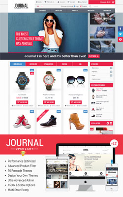Journal - MultiStores Premium Opencart Themes