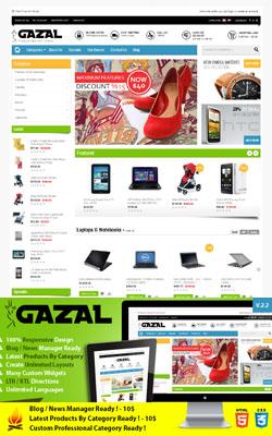 Gazal - Premium Opencart Themes