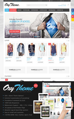 OXY - Responsive OpenCart Themes