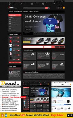Denzi - Premium OpenCart Themes