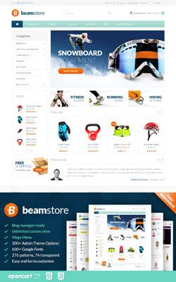 BeamStore – Responsive Opencart Templates