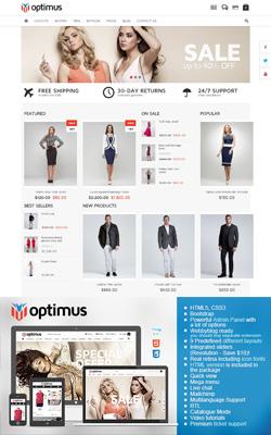 Optimus - Flexible Responsive OpenCart Theme