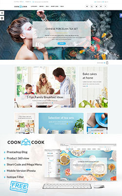 CoonCook - Premium Prestashop Templates