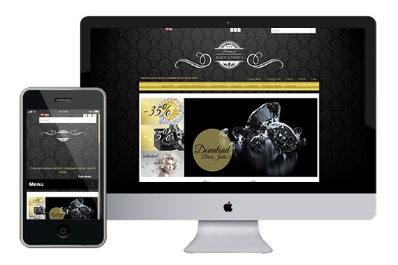 BLACK JUSTIN 3 free responsive opencart themes 1