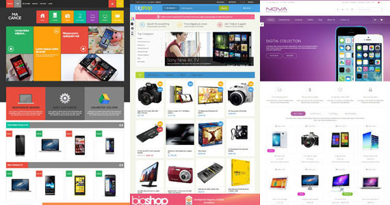 10+ Top Premium Technology Magento Themes