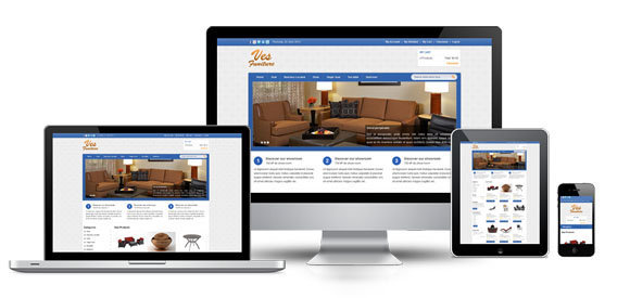 ves_furniture free responsive magento themes  themes