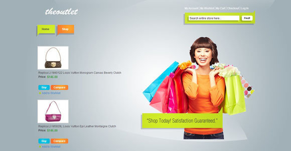 22+ Free Magento Themes : Fashion, Beauty, Shoes, Handbag, Clothes ...