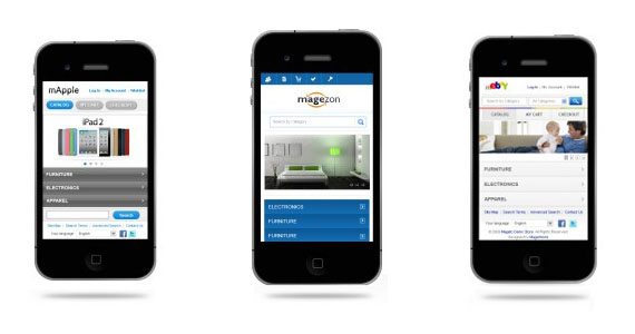 3+ Free Mobile Magento Templates
