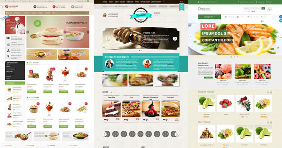 Food and Drink Premium Opencart Templates