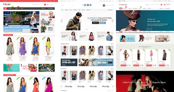 27+ Top Clothes Premium Magento Themes