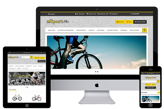 zSport - Free Opencart Theme