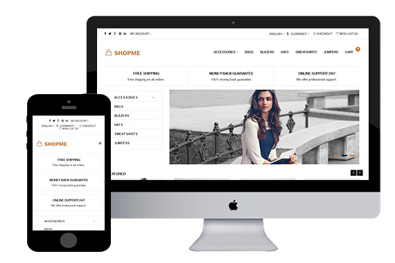 Shopme - Free Fashion Opencart Theme