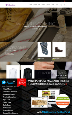 Passion – Ultimate Magento Theme