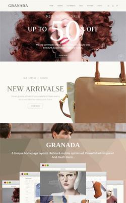 Granada – Ultimate Responsive Magento Templates