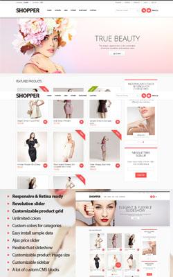 Shopper – Responsive Premium Magento Templates