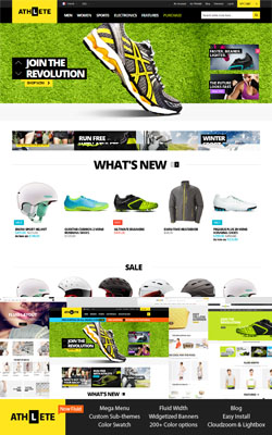 Athlete – Responsive Premium Magento Theme