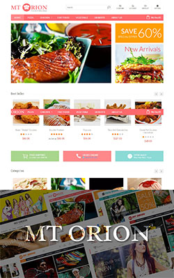 MTOrion Paralax Magento Theme