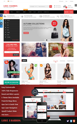 Love Fashion Magento Theme