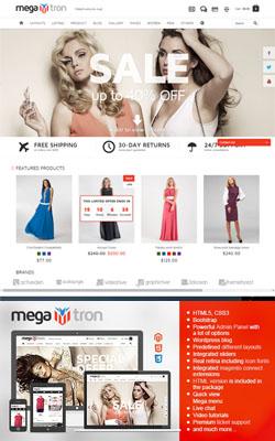 MegaTron – Megaflexible Premium Magento Template