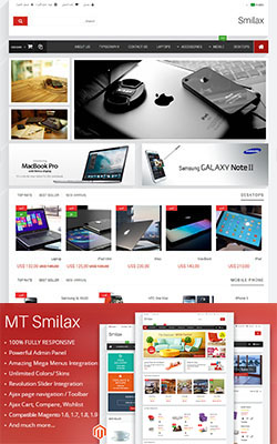 MT Smilax Modern Magento Theme