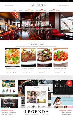 Legenda - Fluid Magento Themes