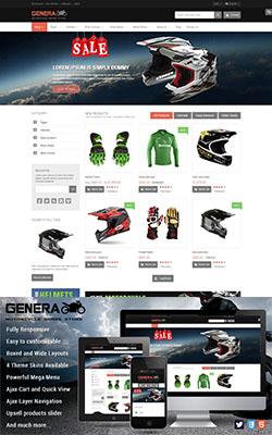 Genera - Magento Sport Theme