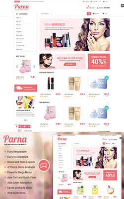Parna - Responsive Magento Theme