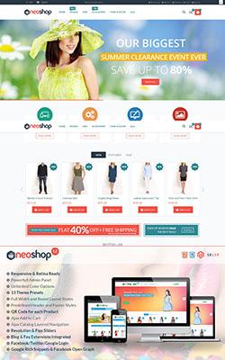 Neoshop - Premium Magento Themes