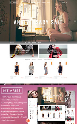 MTAries Magento Theme