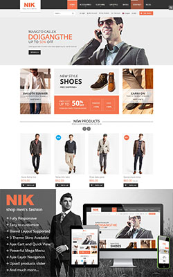 Nik - Magento Fashion Theme