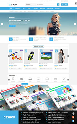 G2shop - Responsive Magento Themes