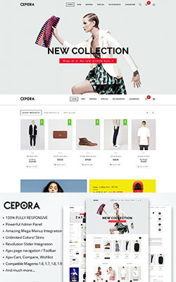 MTCepora Fashion Magento Theme