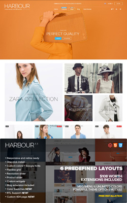 Harbour – Responsive Magento Themes