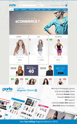 22+ Top Best Premium Magento Themes and Templates