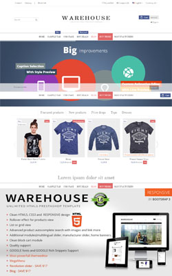 Warehouse – Responsive Premium Prestashop Themes