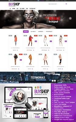 BuyShop - Responsive Prestashop Theme