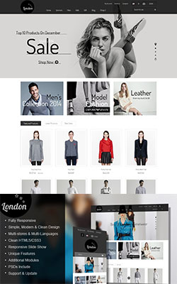 London Stars – Responsive Prestashop Theme