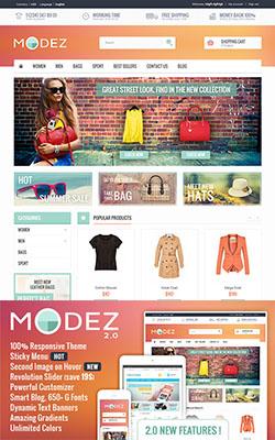 MODEZ – Responsive Premium Prestashop Themes