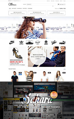 SAHARA - Ultimate Prestashop Themes