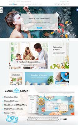 CoonCook - Premium Prestashop Theme