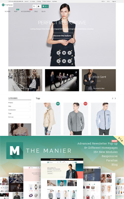 TheManier – Premium PrestaShop Theme