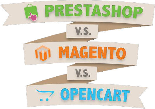 Detailed Comparision of Ecommerce Systems : Magento - Prestashop - Opencart