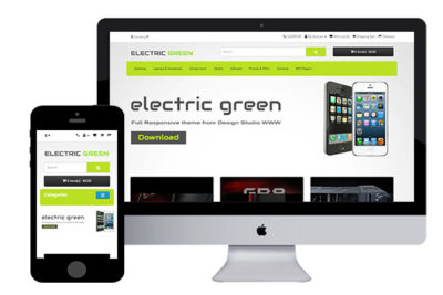 Electric – Free Responsive OpenCart Theme