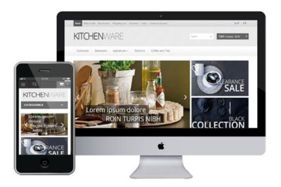 KitchenWare – Bootstrap vQmod Free Responsive OpenCart Themes