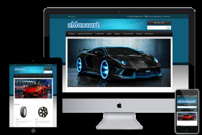 zMaxcart – Free Opencart Theme