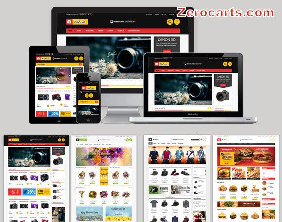 Aries - Multi Store Responsive Magento Theme templates