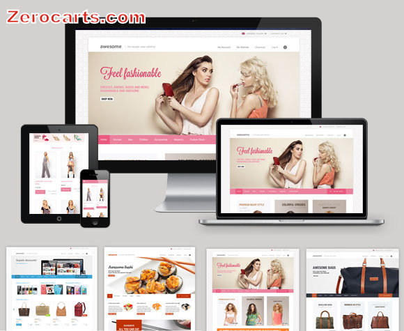 Awesome The Multipurpose Magento Theme templates