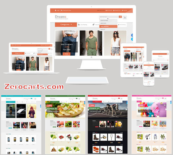Dreams - Multi-Purpose Responsive Opencart Theme templates