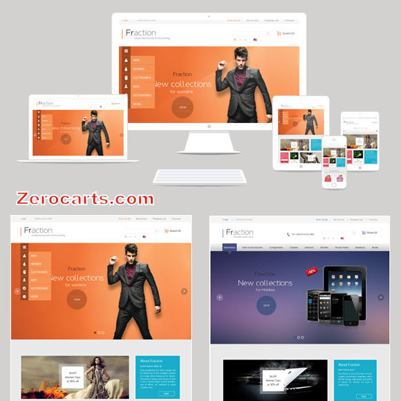 Fraction - Multi-Purpose Responsive Opencart Theme templates