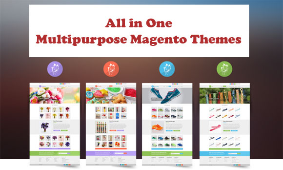 Multipurpose Magento Themes - all in one